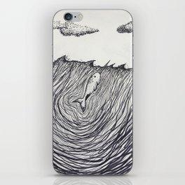 Narwhale iPhone Skin