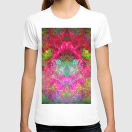 Hallucinogenic Hibiscus Flowers T-shirt