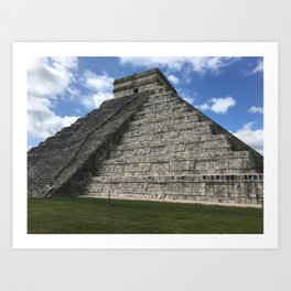 Mexico chichen itza Art Print