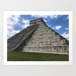 Mexico chichen itza Art Print