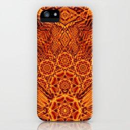 Fire Elemental Temple iPhone Case