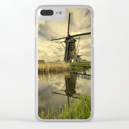 Kinderdyke Reflected Clear iPhone Case
