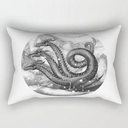 Three-headed dragon Rectangular Pillow