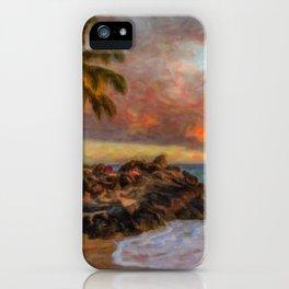 Maui Waui iPhone Case