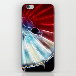 Electric Flower iPhone Skin