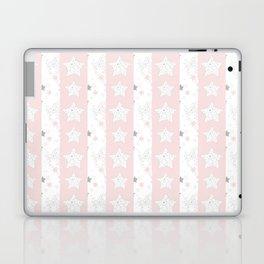 Stars Stripe, January Stars blush and gray Laptop & iPad Skin