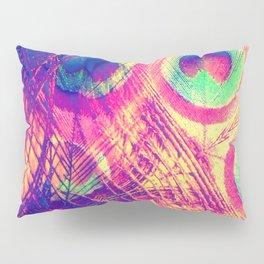 Hot Summer Peacock Pillow Sham