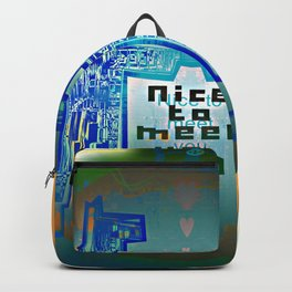 Nice to meet You / Robotic Lab Backpack