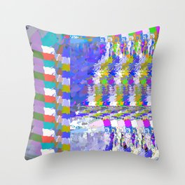 landscape collage #24 Throw Pillow