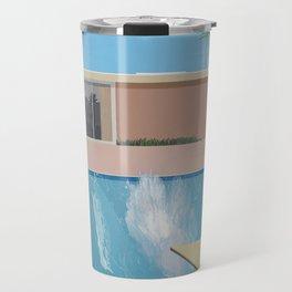 A Bigger Splash - David Hockney, 1967 Travel Mug