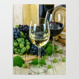 Wine Glass Celebration Poster