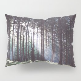 Magic forest - Landscape and Nature Photography Pillow Sham