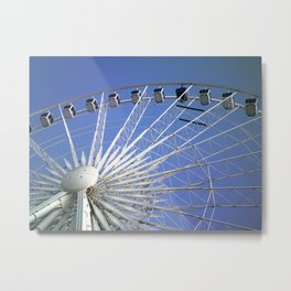 Wheel of Liverpool 2 by FGW Metal Print