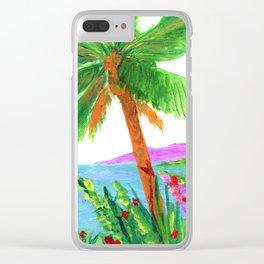 Island Breeze Clear iPhone Case