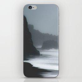 Pacific Northwest Beach Storm iPhone Skin