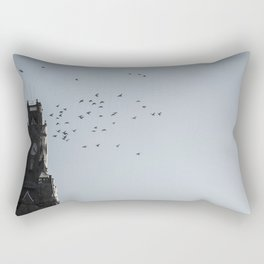 Bird time sky Rectangular Pillow