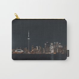 Silver Toronto Carry-All Pouch