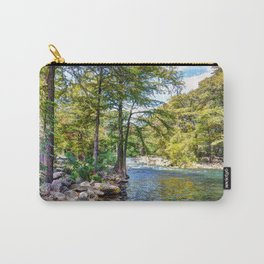 Guadalupe River - Gruene Texas Carry-All Pouch