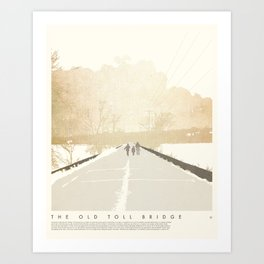 The Old Toll Bridge - Hudson, WI Art Print
