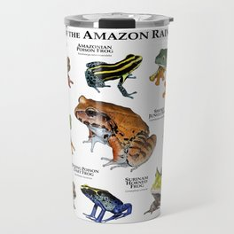 Frogs of the Amazon Rainforest Travel Mug