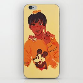 phichit and hamsters iPhone Skin
