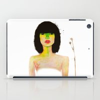 olivia joy iPad Cases featuring Olivia by mzscreations
