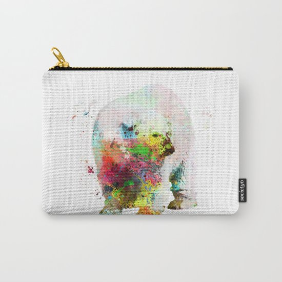 Bear painting Carry-All Pouch