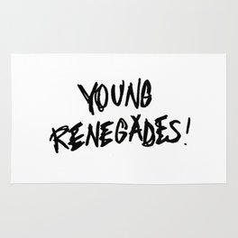 The last young renegades Rug