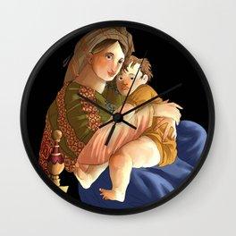 madonna della seggiola Wall Clock