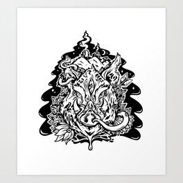 This is our Island Art Print