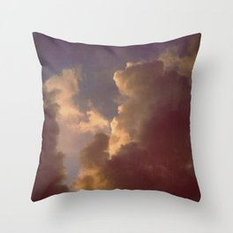 After the Storm (Blue Version) Throw Pillow