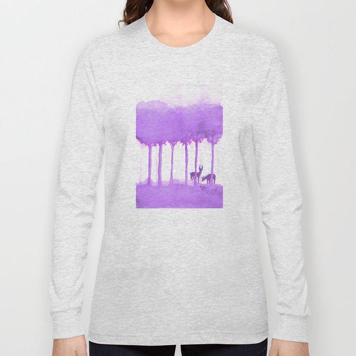 a forest Long Sleeve T-shirt