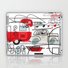 LONG WEEK END Laptop & iPad Skin
