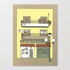 Building nr2 Canvas Print
