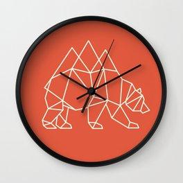 Nomadic Bear Wall Clock