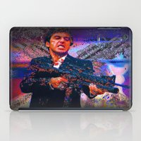 scarface iPad Cases featuring scarface by Vector Art
