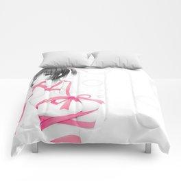 Aoyama Sumika Pink Ribbon Comforters