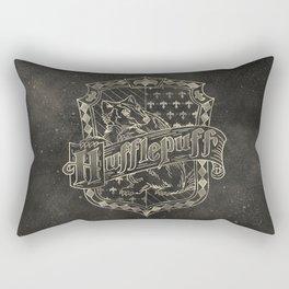 Hufflepuff House Rectangular Pillow