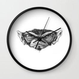 Mr. Monkey Robert Wall Clock