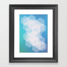 Shape series 5 Framed Art Print