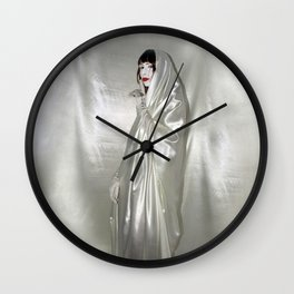 "say no to patriarchy / ""the prudence"" Wall Clock"