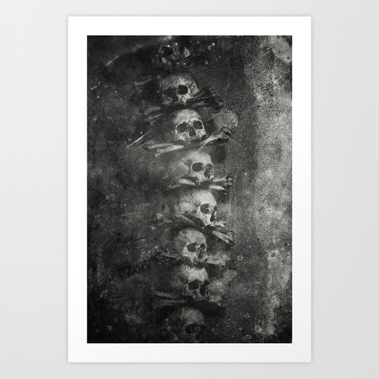 Once Were Warriors III. Art Print
