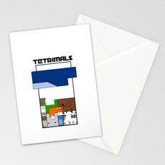 Tetrimals Stationery Cards