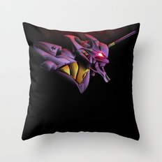 Evangelion Unit 01 - Rebuild of Evangelion 3.0 Movie Poster Throw Pillow