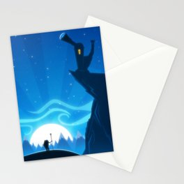 Castle on the Blue Mountain Stationery Cards