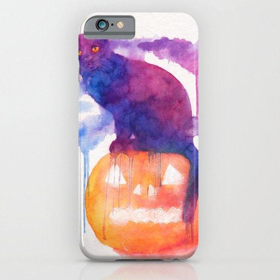 Halloween cat iPhone & iPod Case
