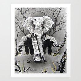 A Mothers Love. Art Print