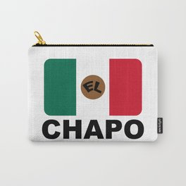 El Chapo Mexican flag Carry-All Pouch