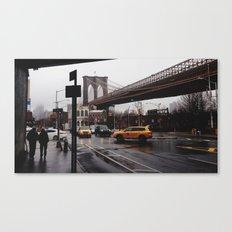 NY Bridges Series No.2 Canvas Print
