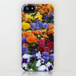 Pancy Flower 2 iPhone Case